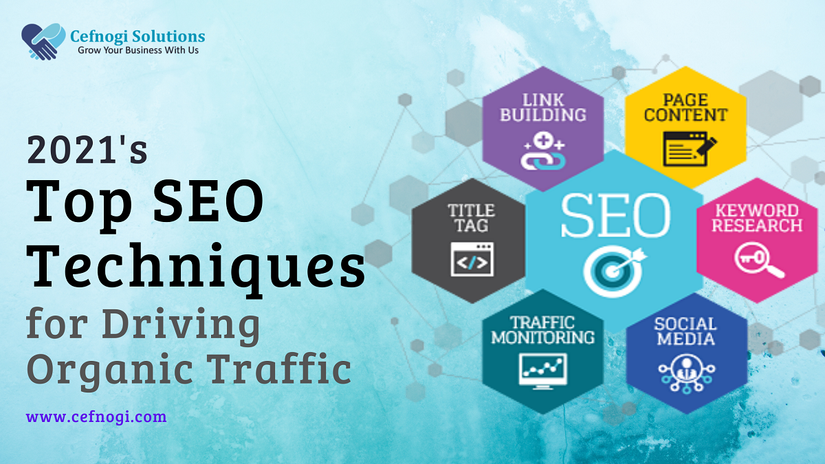 2021's Top SEO Techniques for Driving Organic Traffic
